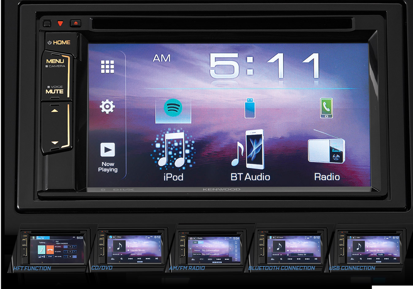 6.122-Touchscreen-Display-Audio-with-Bluetooth-HFT-Function