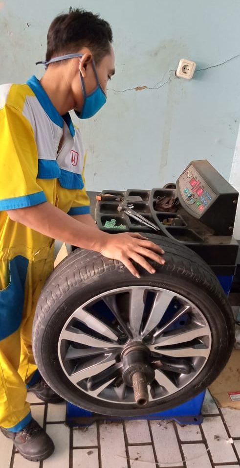 Balancing Honda Pati Jaya