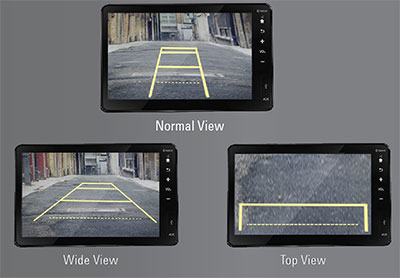 Multi-Angle-Rear-View-Camera