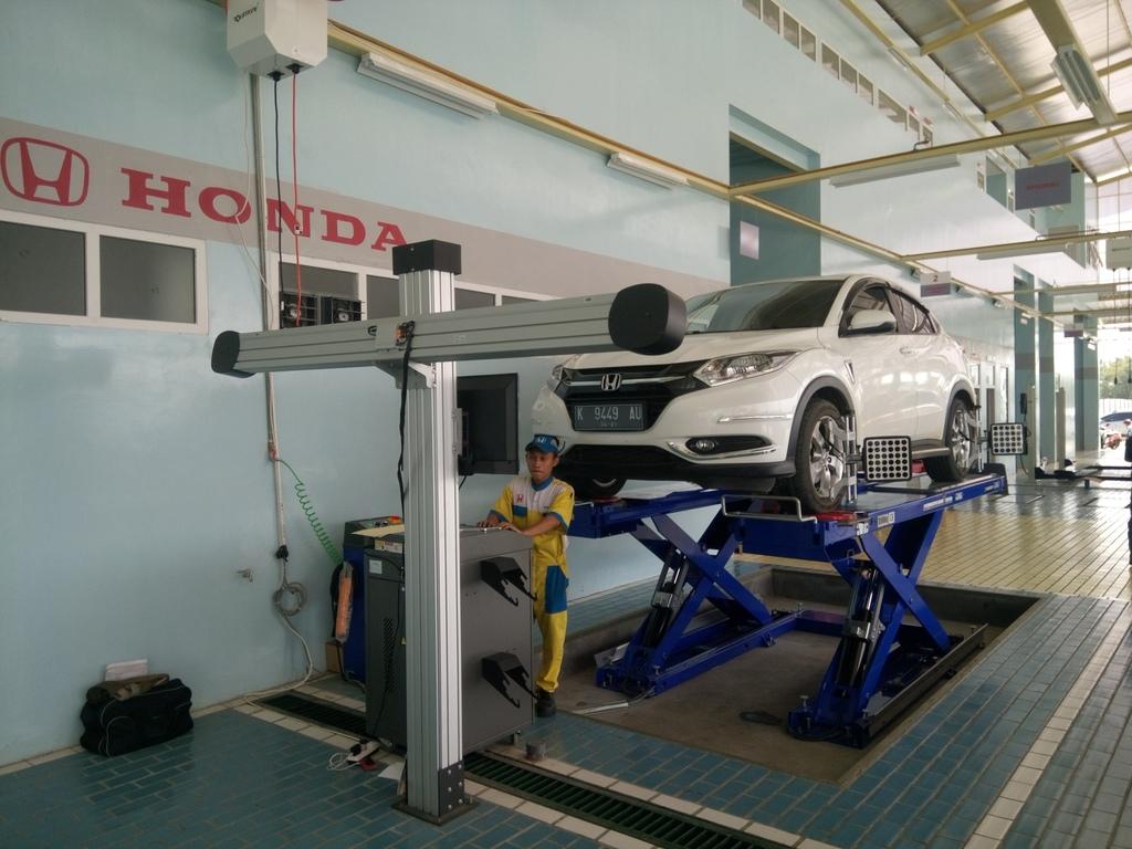 Spooring and Balancing Honda Pati Jaya