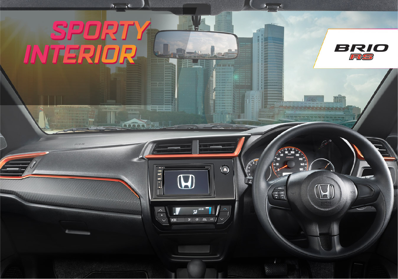 Sporty-Dashboard-Design-with-Orange-Lining-RS